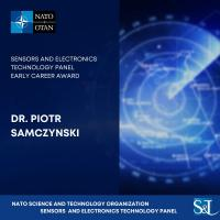 Sensors and Electronics Technology Panel Early Career Award - dr. Piotr Samczyński